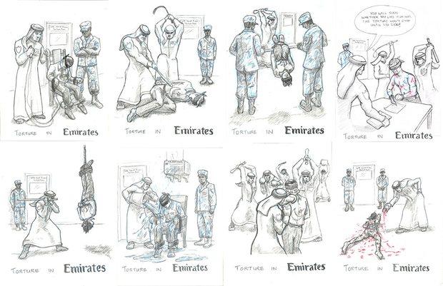 الغارديان تكشف التقنيات الوحشية للتعذيب في سجون الإمارات