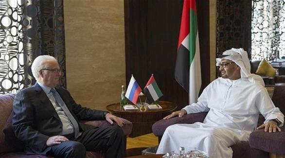 محمد بن زايد يستقل مندوب روسيا لدى الأمم المتحدة ويبحث مع العلاقات الثنائية