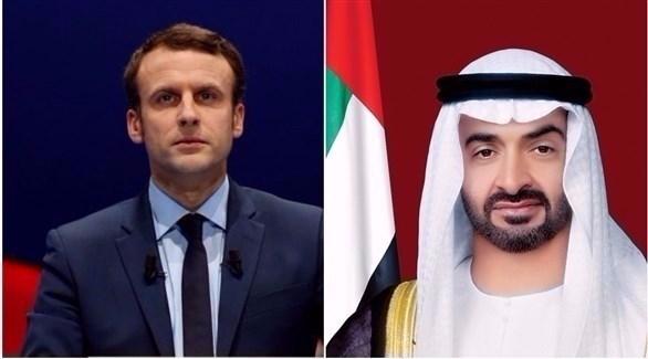 محمد بن زايد يبحث هاتفيا مع الرئيس الفرنسي الأوضاع في ليبيا والتصدي لعمليات التهريب