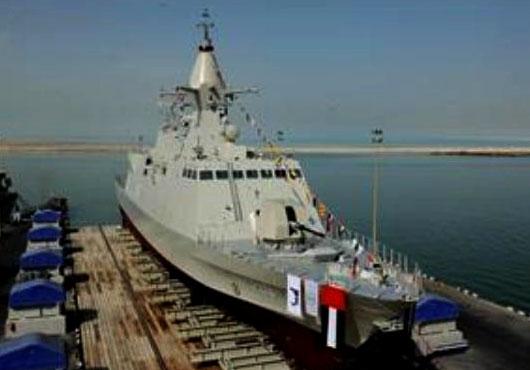 وصول سفينة حربية إماراتية إلى السودان لبدء مناورات عسكرية مشتركة