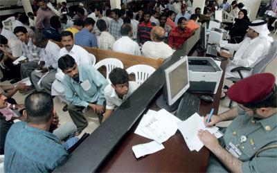 الإمارات تطبق ضريبة القيمة المضافة على رسوم استقدام العمالة