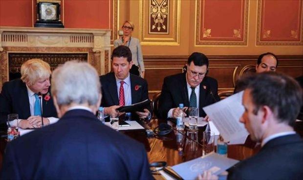 اجتماع دولي في لندن يضم الإمارات ومصر لدعم الجهود الأممية في ليبيا