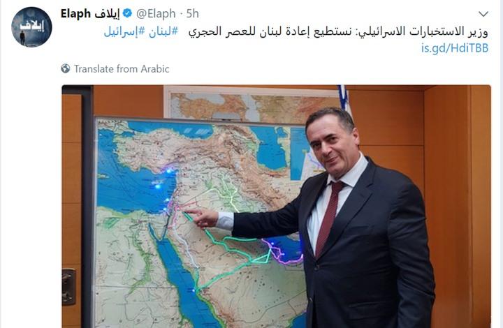 وزير إسرائيلي يكشف لصحيفة