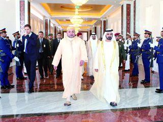 ملك المغرب يصل الإمارات ضمن جولة خليجية تشمل قطر