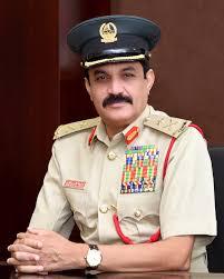 وفاة الفريق خميس مطر المزينة قائد شرطة دبي
