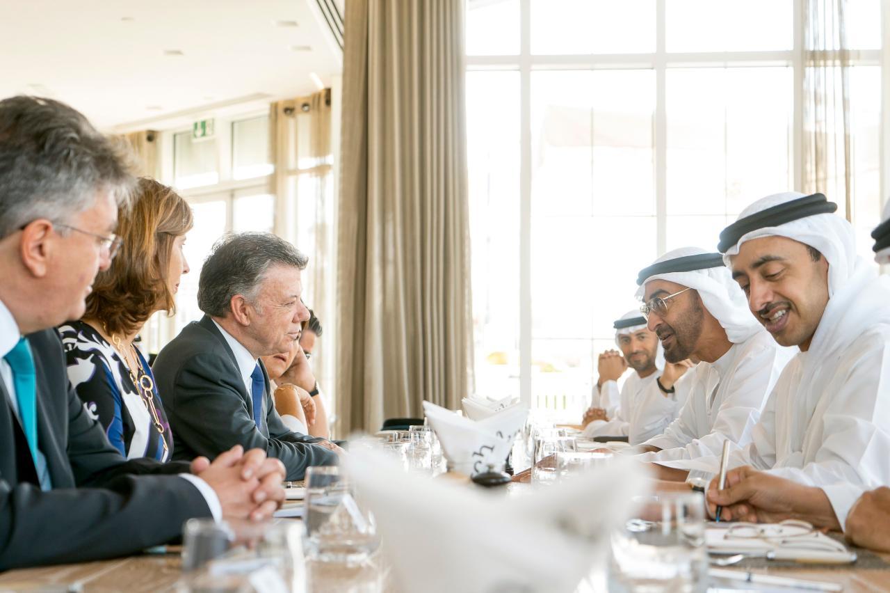 الإمارات تعلن عن  تقديم دعم مالي لكولومبيا بـ45 مليون دولار