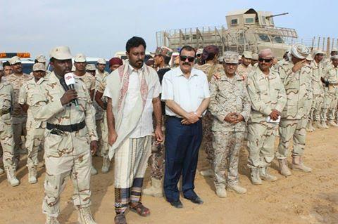 قائد القوات الإماراتية بحضرموت يهاجم إدارة الرئيس هادي