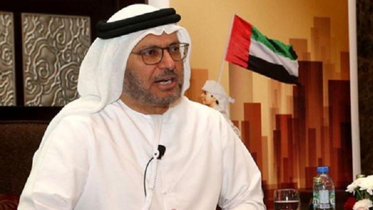 قرقاش: حل الأزمة مع قطر ليس في نيويورك ولندن بل في الرياض