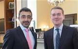 عبدالله بن زايد يبحث مع الكونغرس الأمريكي أزمة قطر