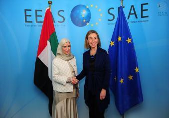 الإمارات تدعو البرلمان الأوروبي إلى