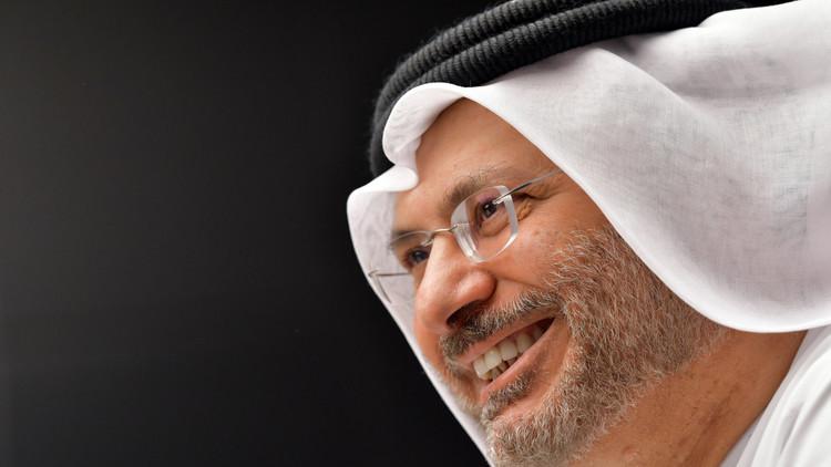 قرقاش يرفض ربط إعادة سفير الدوحة إلى طهران بعودة التبادل التجاري بين الإمارات وإيران