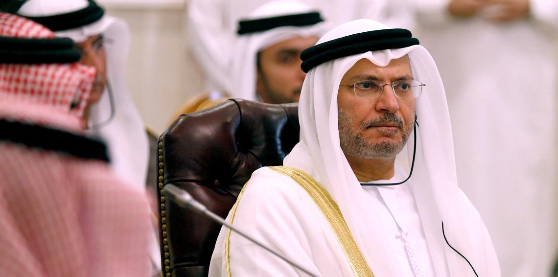 قرقاش: حل الأزمة مع قطر  في الرياض وما يجري مقاطعة لا حصار