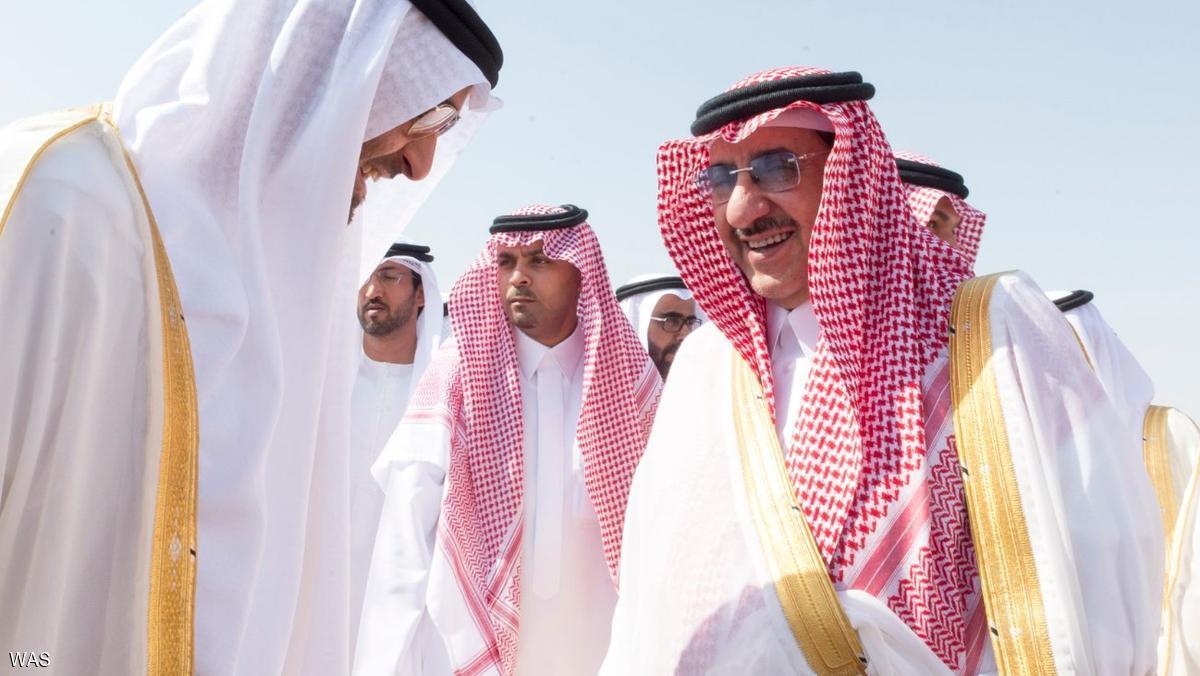 محمد بن زايد في السعودية بزيارة