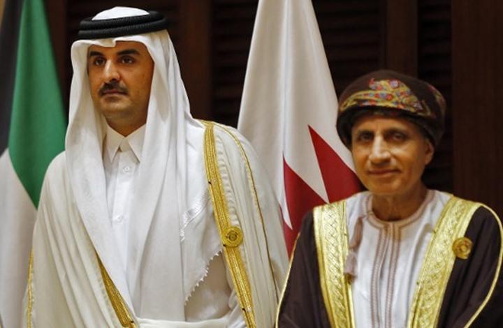 أمير قطر يستقبل وزير الخارجية العماني ويتلقى اتصالا من أمير الكويت حول الأزمة الخليجية