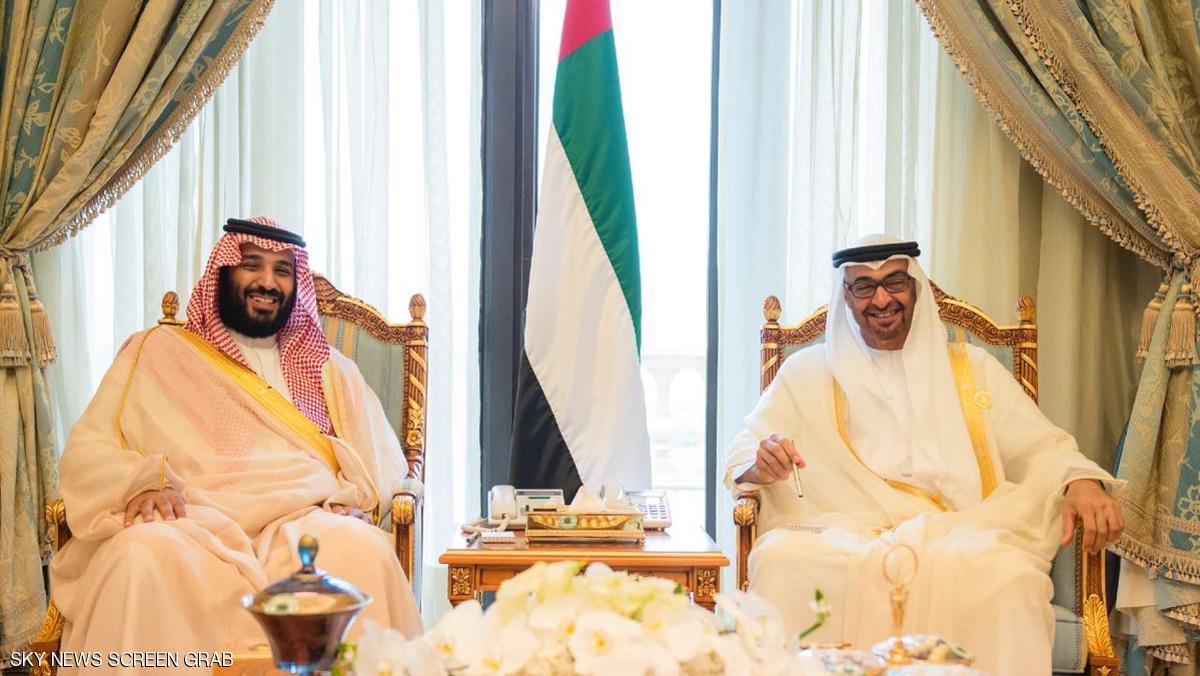 محمد بن زايد يلتقي محمد بن سلمان ويبحث معه العلاقات بين البلدين