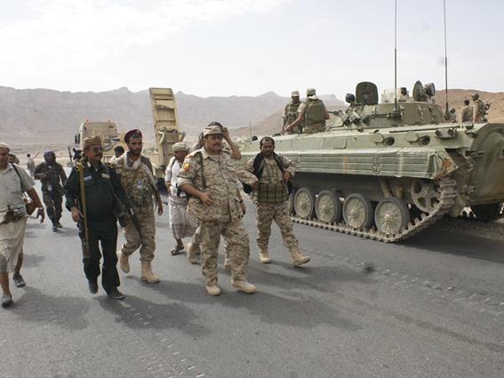 الجيش اليمني يسيطر على مواقع استراتيجية بمحافظة حجة