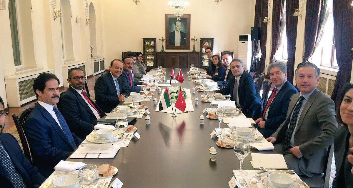 انطلاق أعمال منتدى الأعمال الإماراتي التركي في دبي