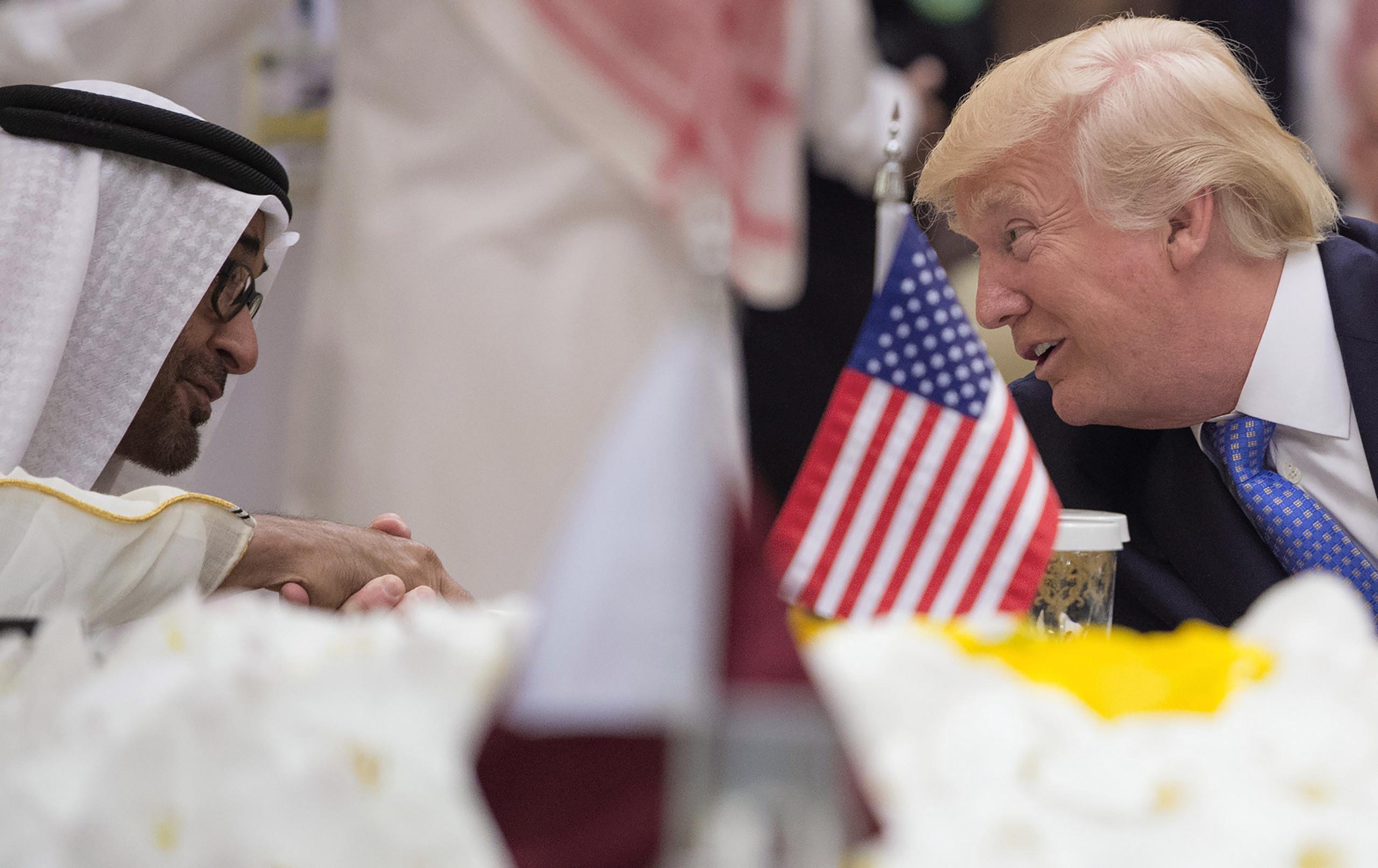 محمد بن زايد: قمة الرياض انطلاقة جديدة في العلاقات الأمريكية- الخليجية