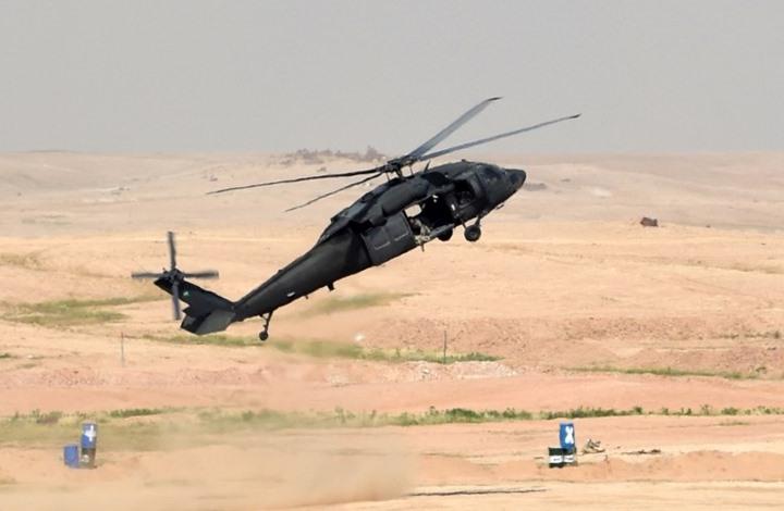 استشهاد 12 عسكريا سعوديا بتحطم مروحيتهم بـ