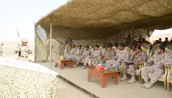 القوات الإماراتية والماليزية تختتمان مناورات