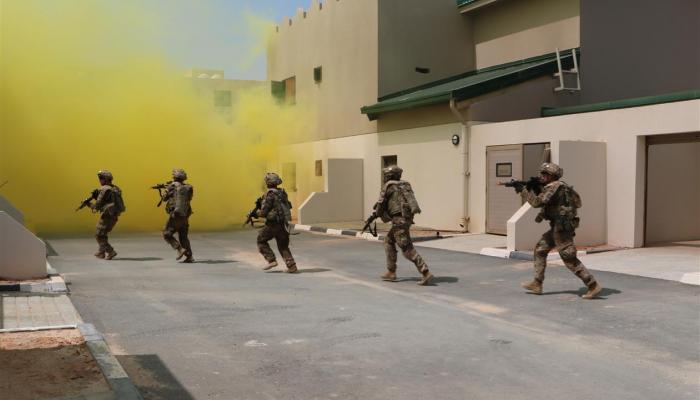 اختتام التمرين العسكري