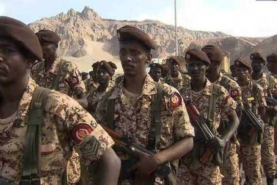 قوات سودانية تنتشر في حقول النفط بشبوة اليمنية لحمايتها من ميليشيات الانفصاليين