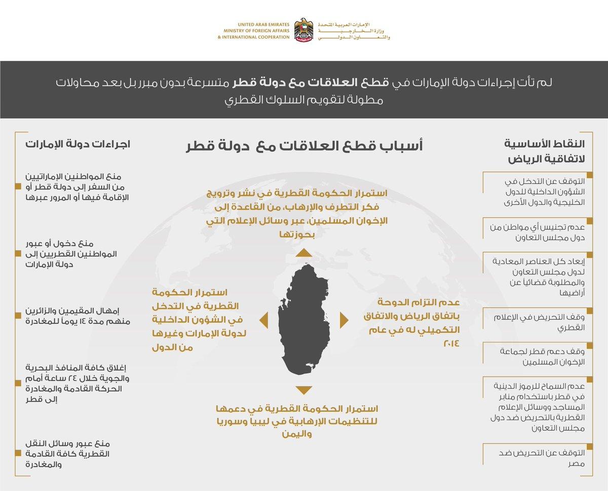قرقاش يكشف عن ارتباط مقاطعة قطر بملفات الإخوان وحماس والجزيرة