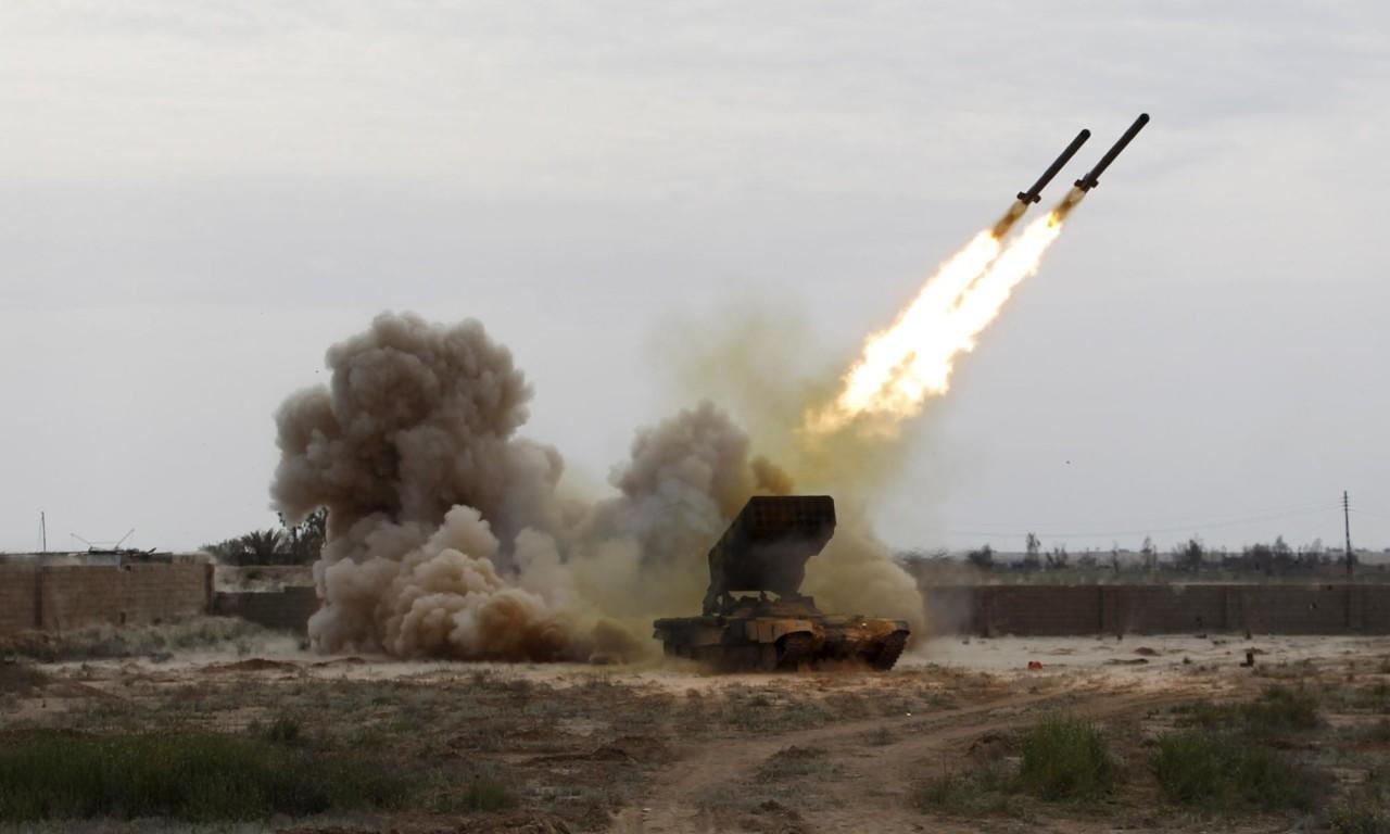 إسقاط صاروخ باليستي أطلقه الحوثيون باتجاه الرياض قبيل زيارة