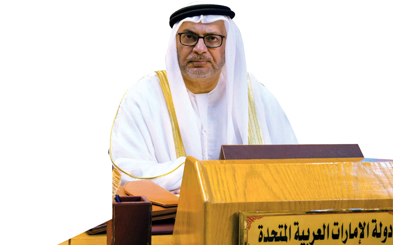 قرقاش: الإمارات ثابتة في دورها ضمن التحالف في اليمن