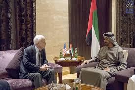 محمد بن زايد يبحث مع السيناتور الامريكي جون ماكين تطوير العلاقات بين البلدين