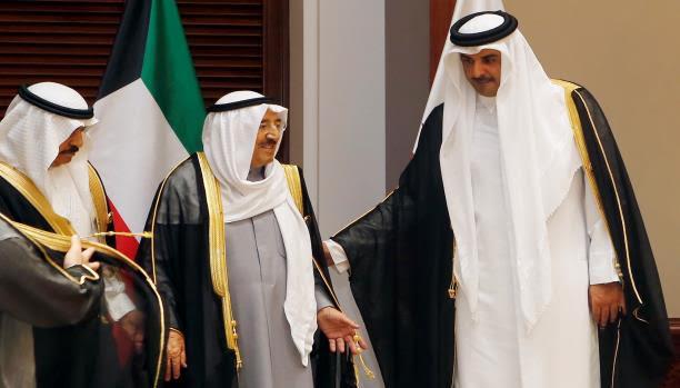 أبوظبي تصعد هجومها مع زيارة أمير قطر إلى الكويت