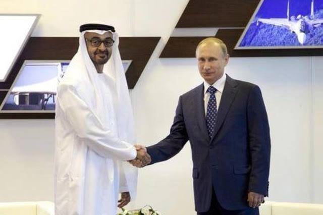 اجتماع مرتقب يجمع بوتين بولي عهد أبوظبي