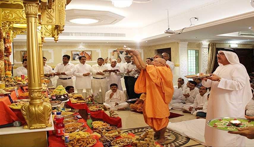 رئيس وزراء الهند يشكر أبوظبي لسماحها ببناء معبد هندوسي على أراضيها