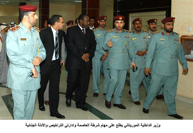 سيف بن زايد يستقبل وزير الداخلية الموريتاني ويبحث معه العلاقة بين البلدين