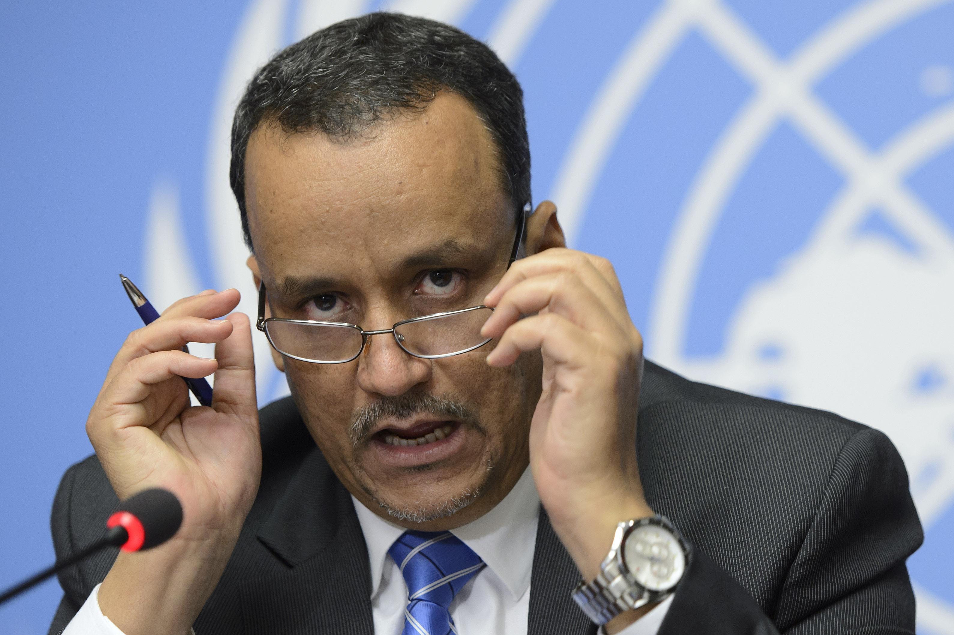 ولد الشيخ يكشف عن خطة للحل سلمت لطرفي النزاع باليمن