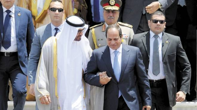وفد رئاسي مصري يصل إلى الإمارات تحضيرا لزيارة