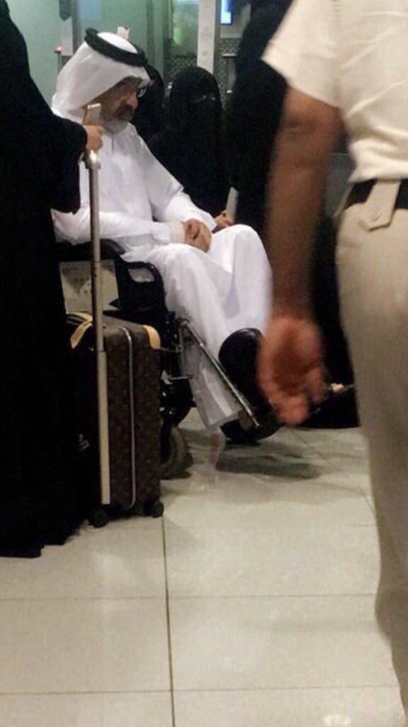 عبدالله آل ثاني يصل الكويت قادماً من أبوظبي وأنباء عن تدهور حالته الصحية