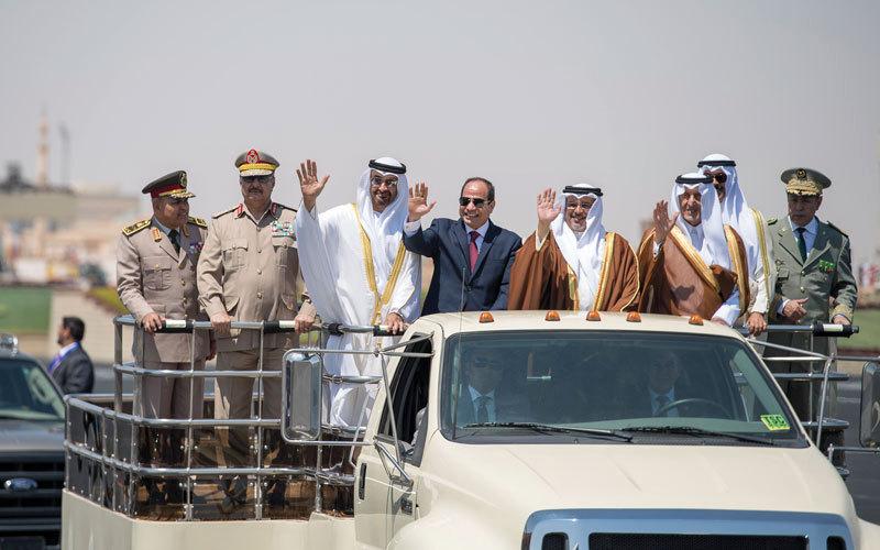 الإمارات تعزز وجودها العسكري في قاعدة «نجيب» المصرية