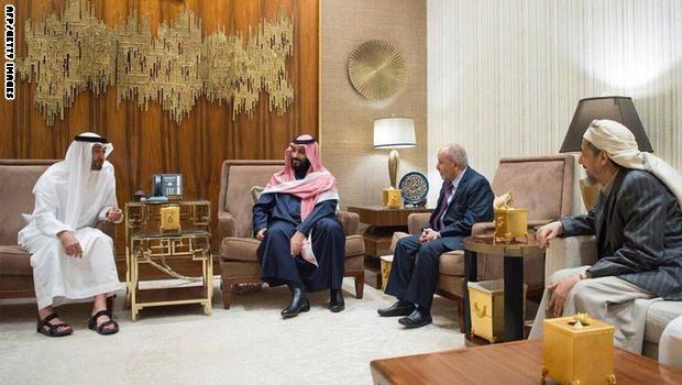 بعد شهرين على لقاء محمد بن زايد مع قادة