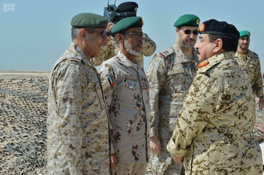 الإمارات و السعودية تجريان مناورة بالذخيرة الحية في البحرين