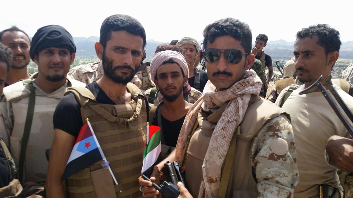 قوات مدعومة من أبوظبي تنفذ عملية بأبين ومقتل قيادي بالقاعدة