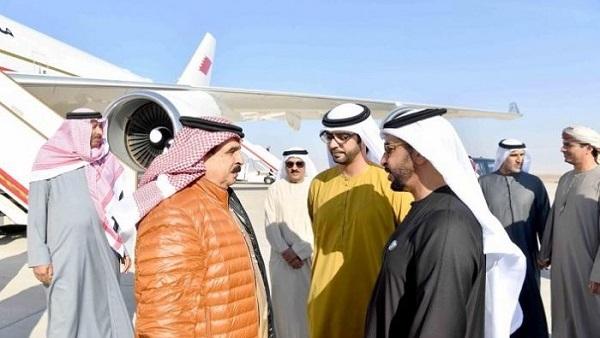 ملك البحرين يصل الإمارات في زيارة خاصة
