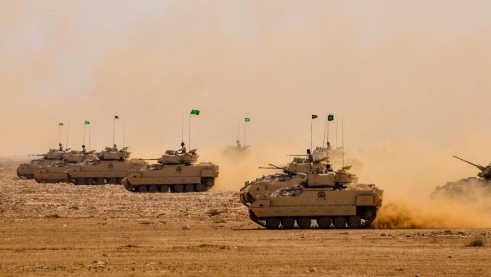 اختتام مناورات عسكرية رابعة بين السعودية وأمريكا