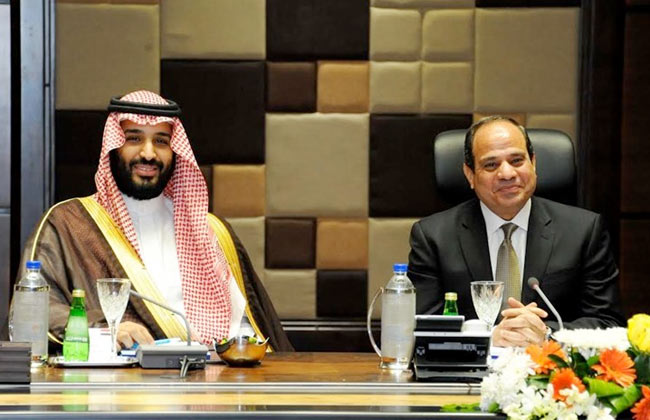 محمد بن سلمان سيزور مصر في طريقه لرحلة بريطانيا
