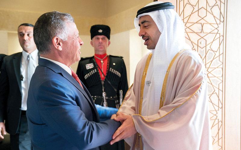 الأردن والإماراتيبحثان قضايا المنطقة وجهود مكافحة الإرهاب