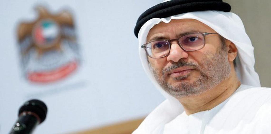 قرقاش: حل الأزمة الخليجية عبر بوابة الرياض والزيارة القطرية لأمريكا لم تحدث اختراقا