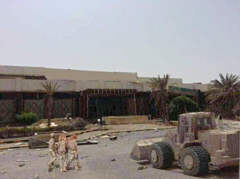 الجيش اليمني يعلن سيطرة قوات التحالف العربي على مطار الحديدة