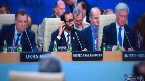 وزير الدولة لشؤون الدفاع الإماراتي يشارك في اجتماع
