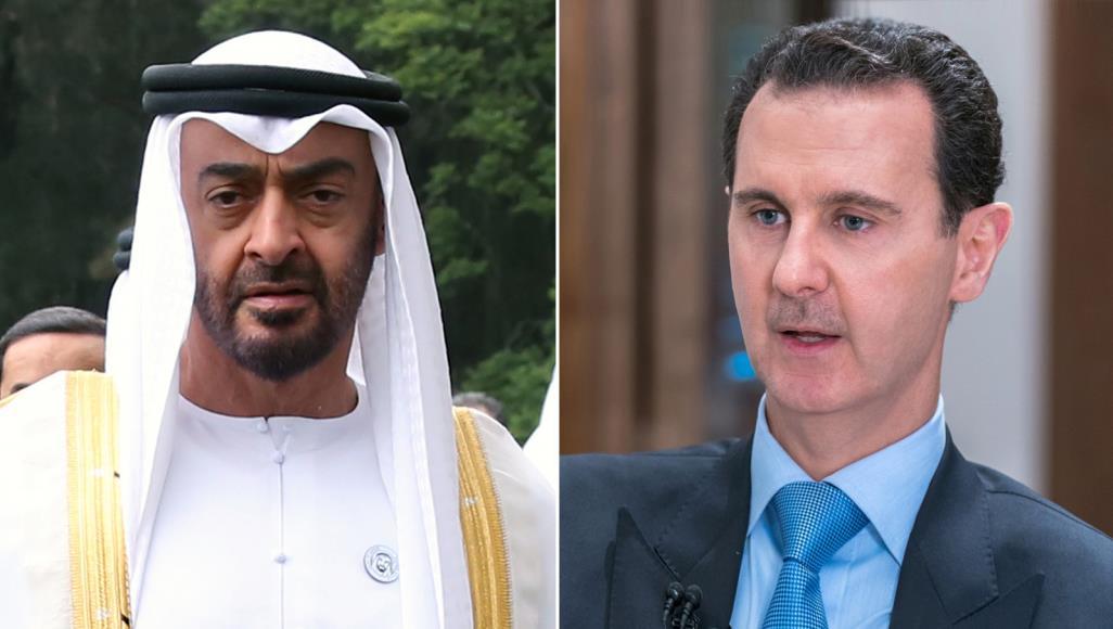"""المعارضة السورية تنتقد دعم الإمارات للأسد بذريعة """"التضامن الإنساني"""""""