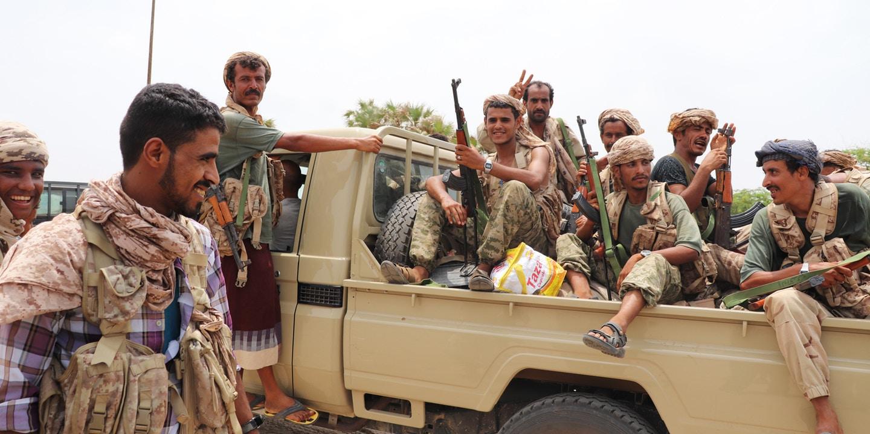 القوات الإماراتية تواجه معارك